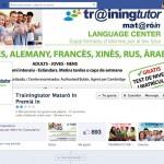 Portada del Centro de idiomas MATARÓ IN / TRAINNING TUTOR